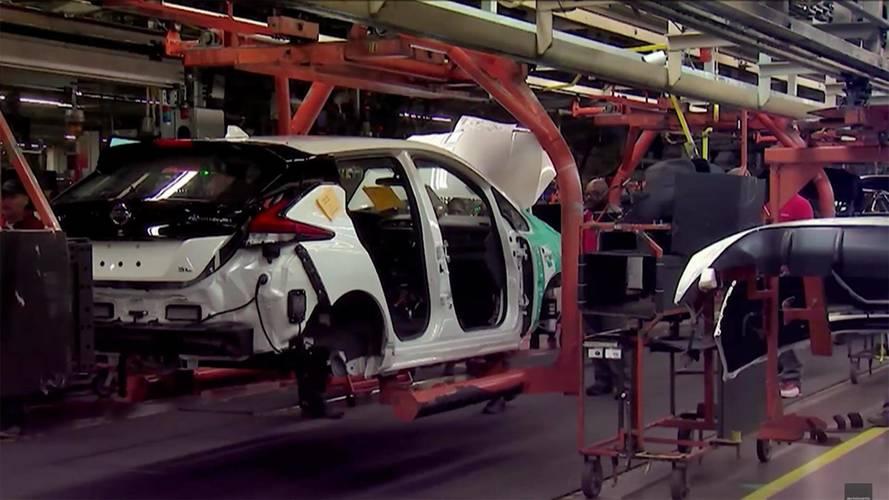 Elstartolt az új Nissan Leaf európai gyártása