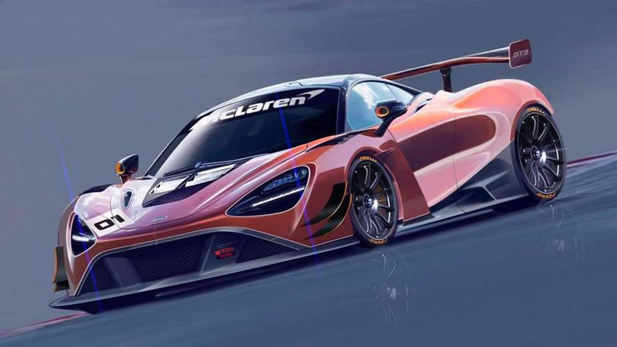 A McLaren dolgozik a 720S GT3-as versenyváltozatán