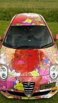 Alfa Romeo Mito Art Car - 15.7.2011