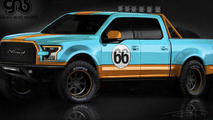 Ford unveils seven F-150s for SEMA