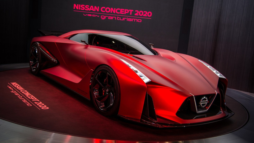 Nissan displays the updated Concept 2020 Vision Gran Turismo in Tokyo