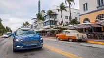 Ford Autonomous Vehicles Miami