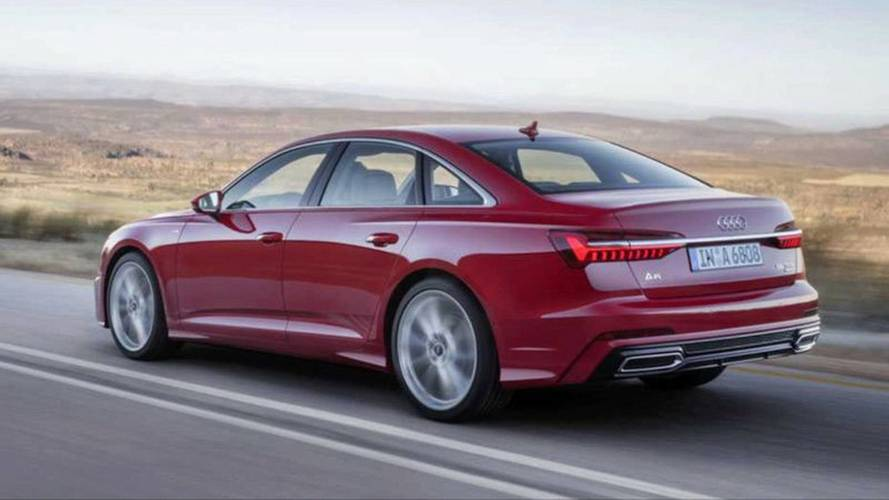 2019 Audi A6 leaked official images (not confirmed)
