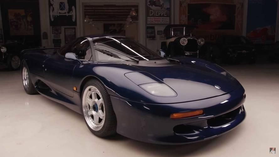 Rare Jaguar XJR-15 Makes A Noisy Appearance At Jay Leno's Garage