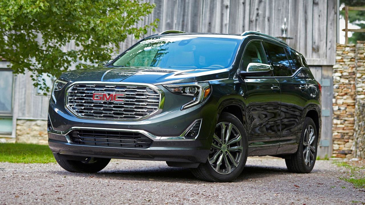 2018 gmc terrain first drive find new terrain. Black Bedroom Furniture Sets. Home Design Ideas