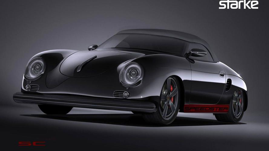 St 228 Rke Revolution Speedster Turns Boxster Into Modern 356