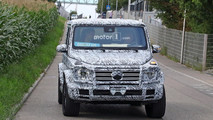 2019 Mercedes G-Class spy photo