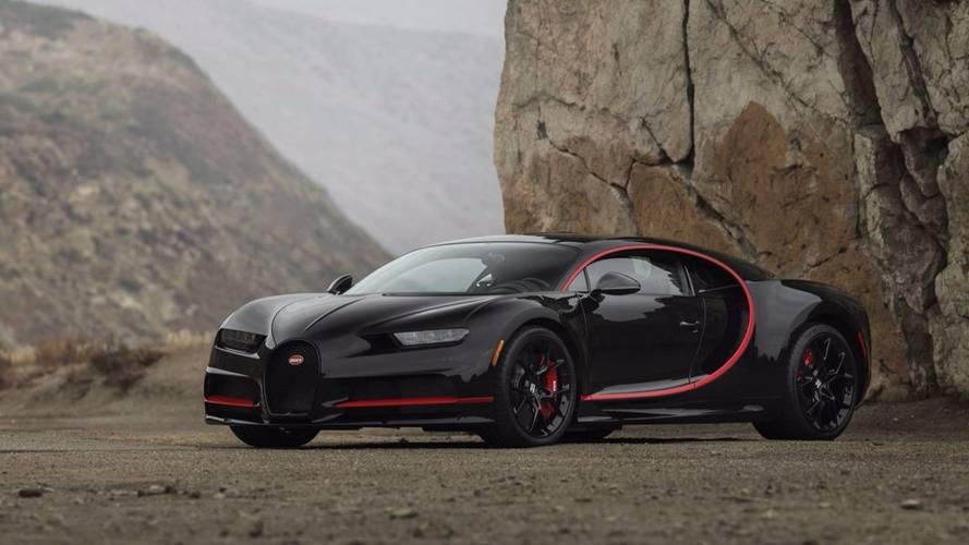 Une Bugatti Chiron adjugée 3,8 millions de dollars