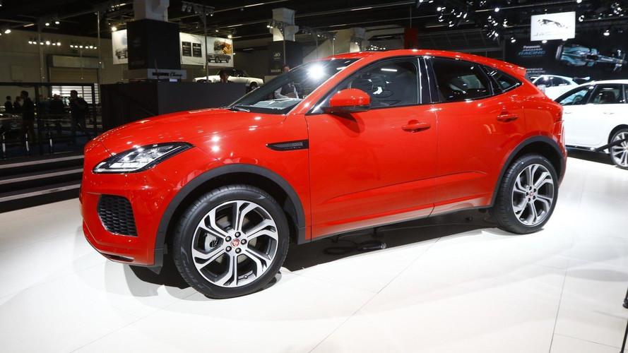 Le Jaguar E-Pace en images au Salon de Francfort