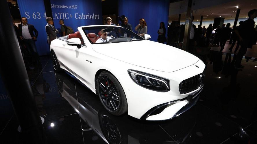 Mercedes Classe S Coupé et Cabriolet - L'élégance à Francfort