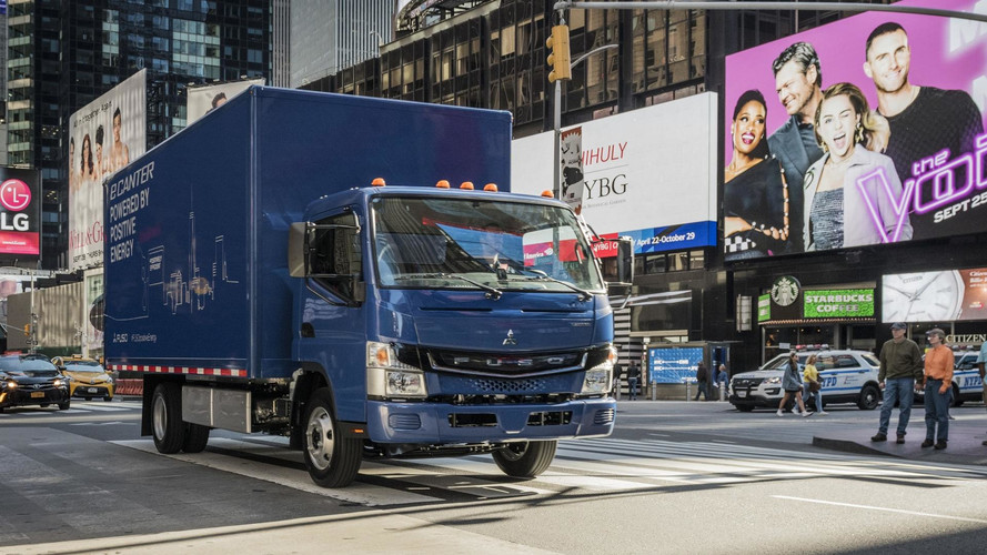 UPS Takes Delivery Of First Fuso eCanter Electric Truck In U.S.
