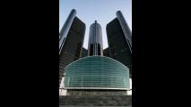 Renaissance Center: il quartier generale di GM, fallita quest'anno