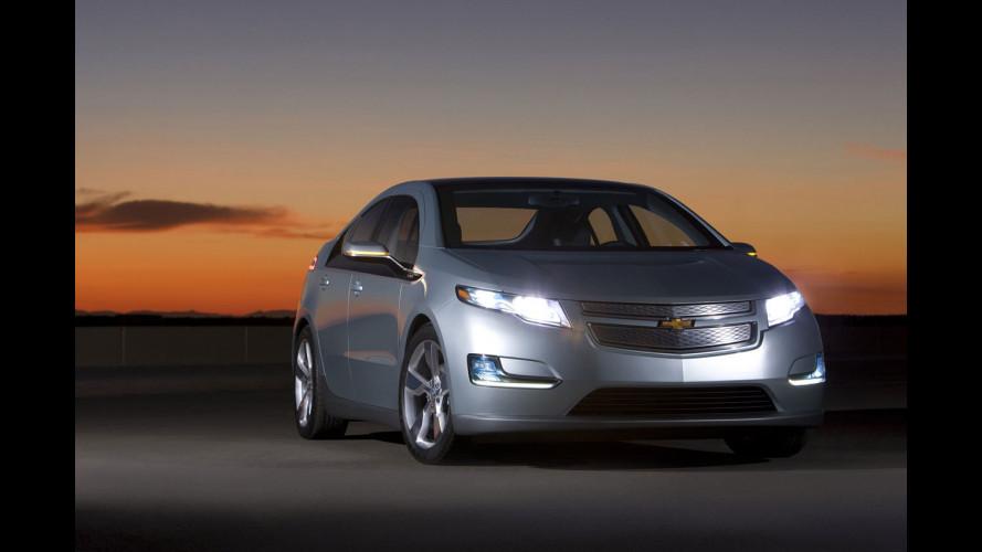 Chevrolet Volt: l'America sceglie il suo colore!