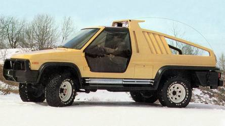 1981 Ford Bronco Montana Lobo, 1988 Bronco DM-1: Concept We Forgot