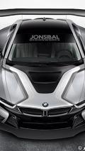 BMW i8 race car artist rendering