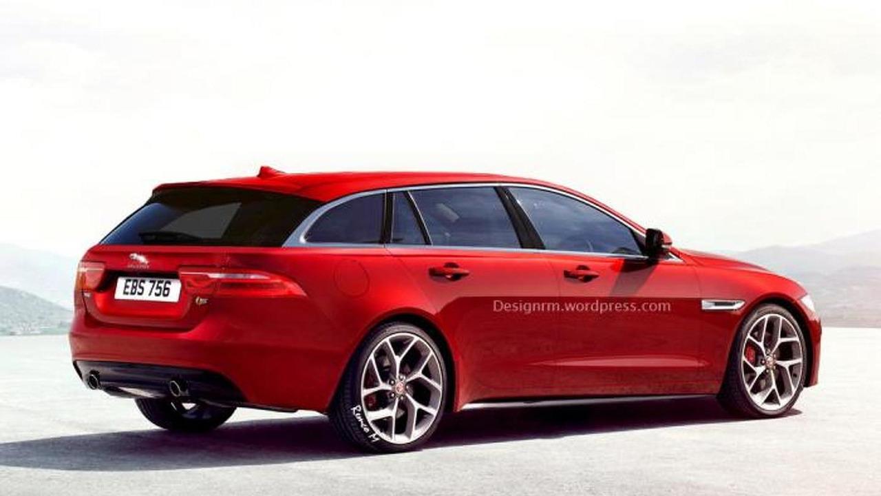 Jaguar XE S Sportbrake render