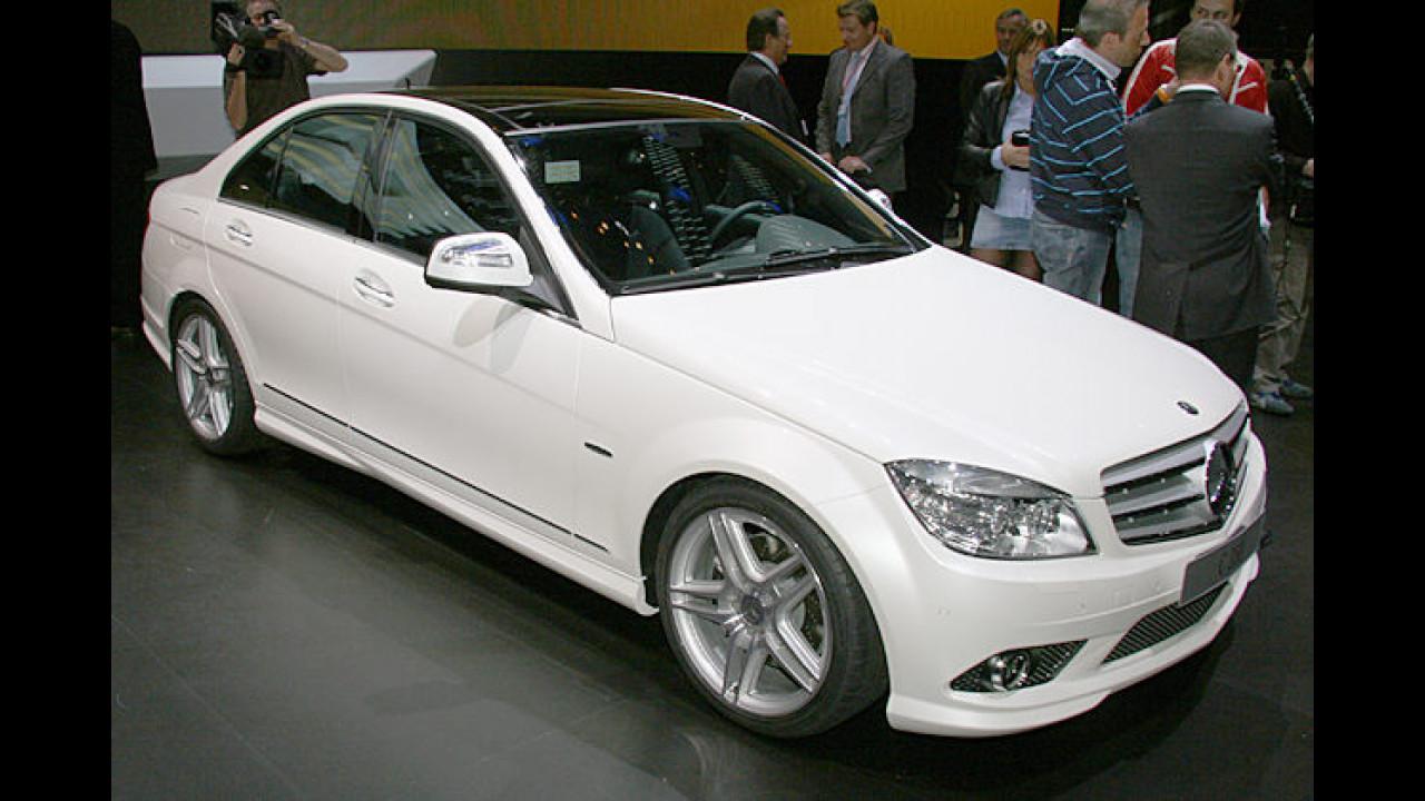 Mercedes meist verkaufte Baureihe ist die C-Klasse, die im März 2007 neu zu den Händlern kam