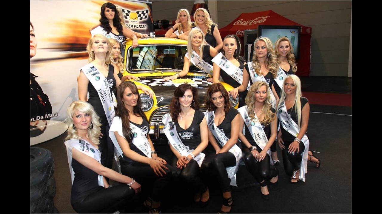 Wer ist die Schönste? Die Finalistinnen für die Wahl zur Miss Tuning 2011