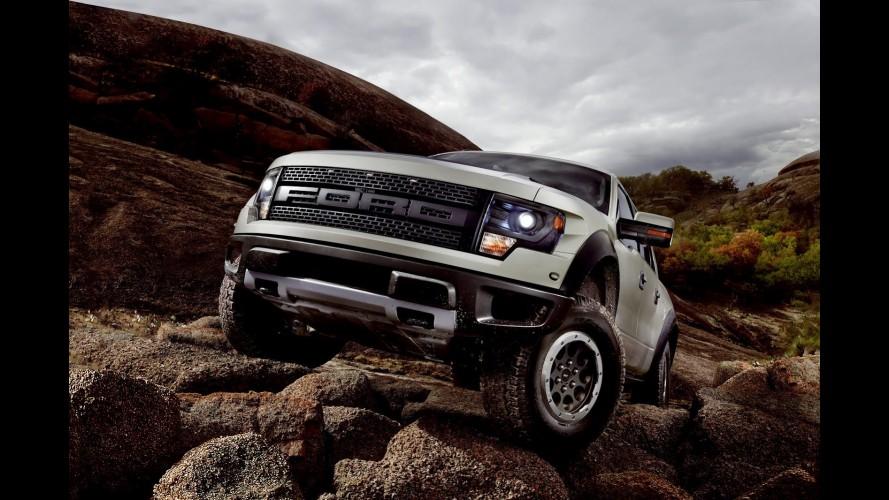 Ford F-150 SVT Raptor chega à linha 2013 com novidades nos Estados Unidos