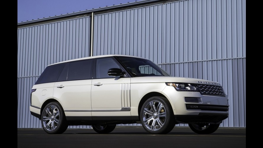 Land Rover prepara versão luxuosa do Vogue para brigar com SUV da Bentley