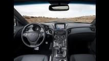 Hyundai Genesis Coupé ganha equipamentos e câmbio aprimorado nos EUA