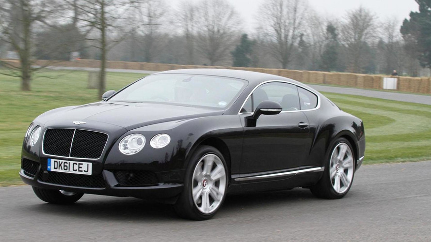 Bentley Continental GT V8 tackles Goodwood