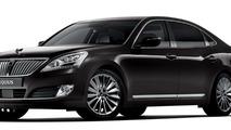 2013 Hyundai Equus facelift 07.12.2012