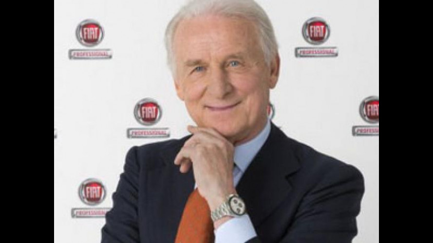 Giovanni Trapattoni è ambasciatore di Fiat Professional