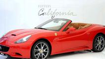 Ferrari California in Paris