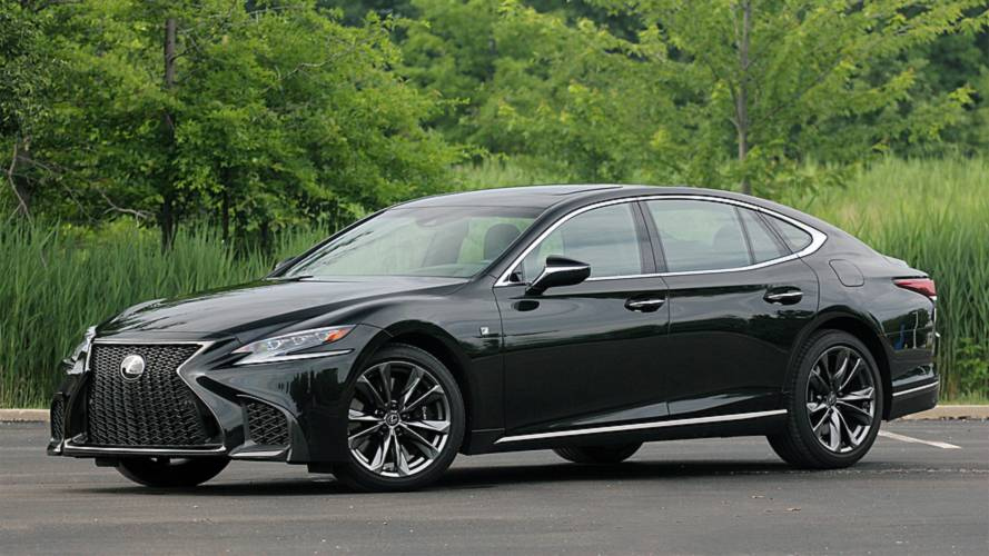2018 Lexus LS 500 F Sport: Middle Of The Pack