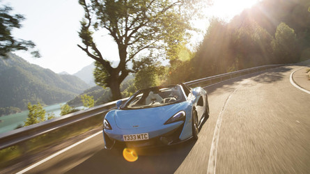 Video First Drive: McLaren 570S Spider