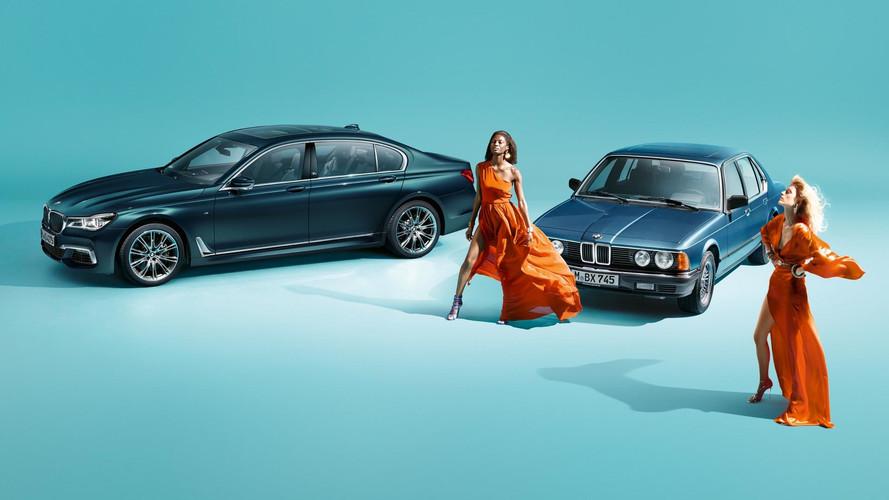 Les 40 ans de la BMW Série 7 en édition limitée