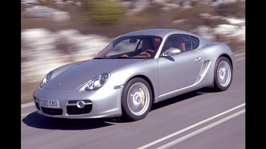 Neues Porsche-Coupé: Cayman S geht an den Start