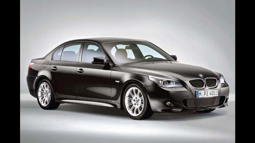 Martialisches Mobil: M-Sportpaket für den BMW 5er