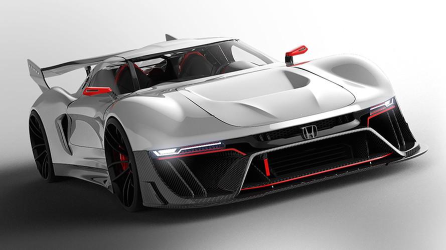 Honda Invisus Concept 2020, un velocista solo para circuito