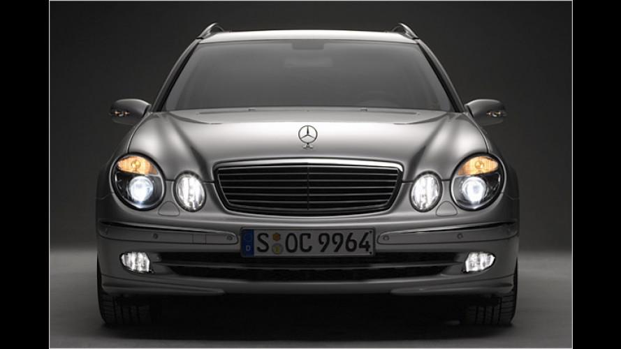 Mercedes macht Licht: Neue Scheinwerfer denken mit