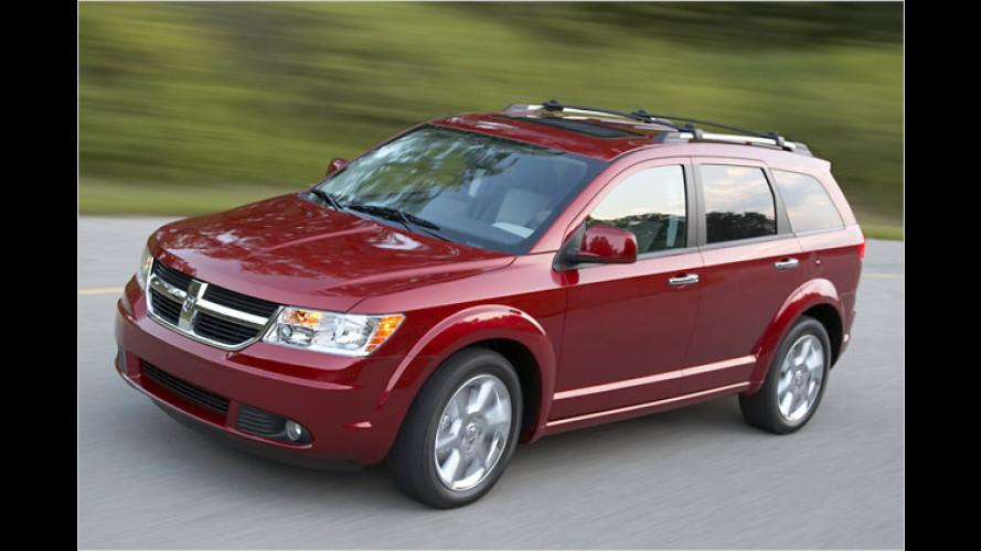 Dodge Journey: Crossover-Fahrzeug debütiert auf der IAA