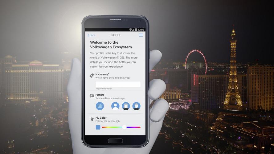 CES 2017 - Volkswagen mostra aplicativo para facilitar o dia a dia