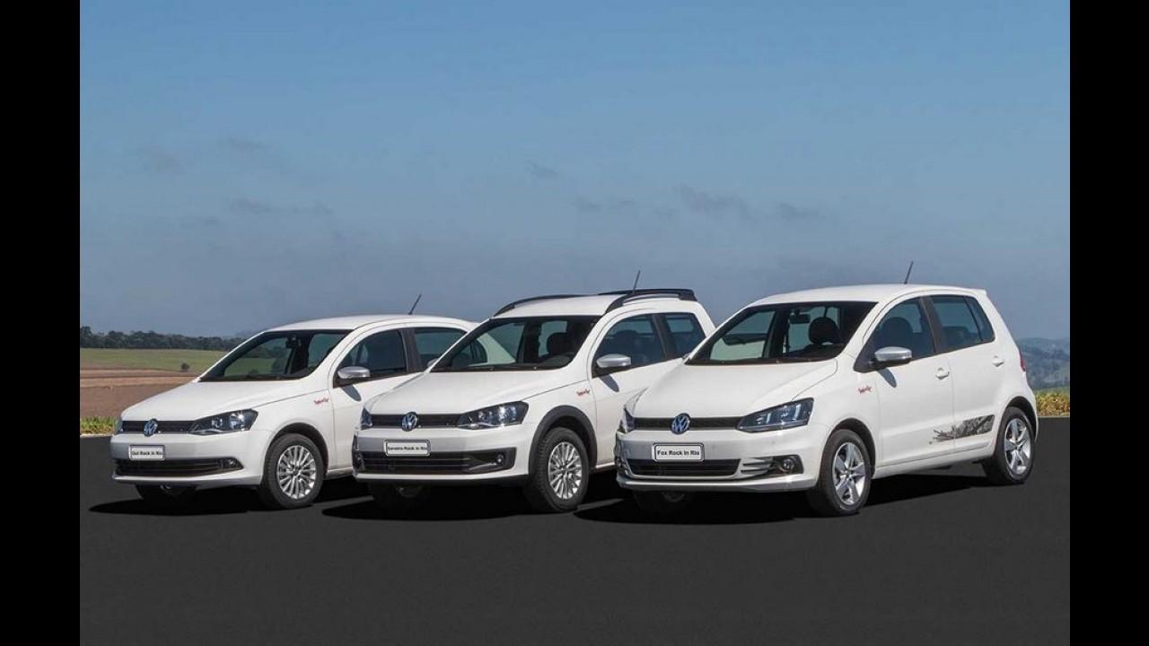 Depois de Gol e Fox, VW Saveiro ganha série Rock in Rio por R$ 60.390