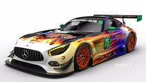 #75 SunEnergy1 Riley Motorsports Mercedes AMG GT3
