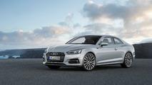 Audi A5 Coupé gris