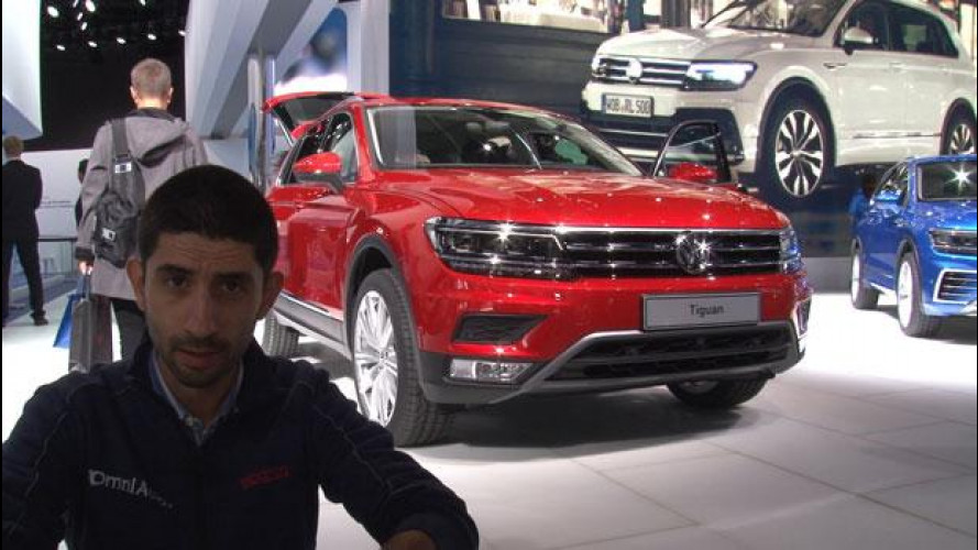 Salone di Francoforte: Volkswagen, ecco la nuova Tiguan [VIDEO]
