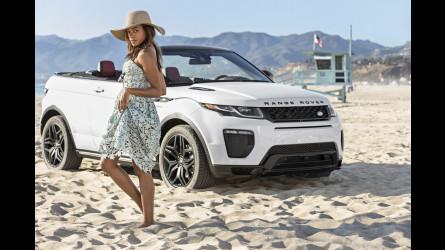 Range Rover Evoque Convertibile e Naomie Harris, bellezze