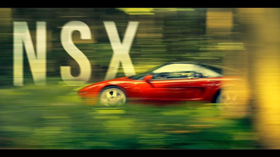Short film pays tribute to Ayrton Senna and the Honda NSX