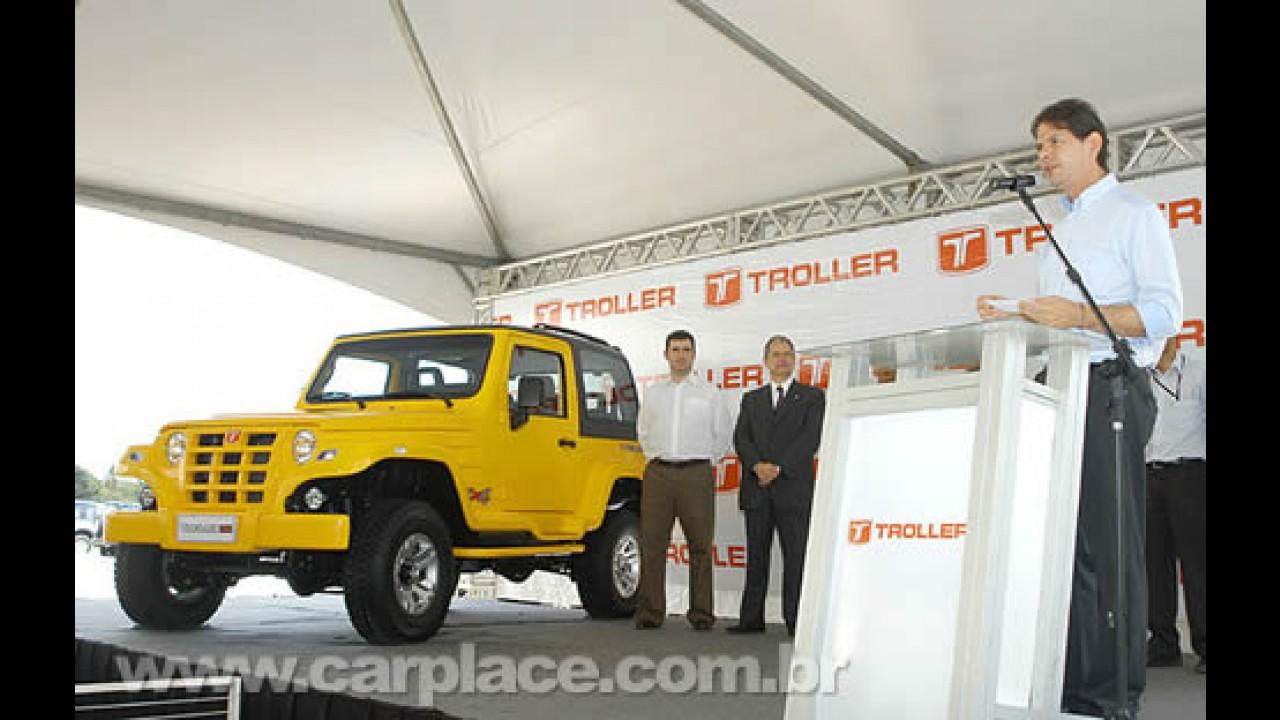 Troller apresenta o renovado T4 2009 - Produção do jipe brasileiro é retomada