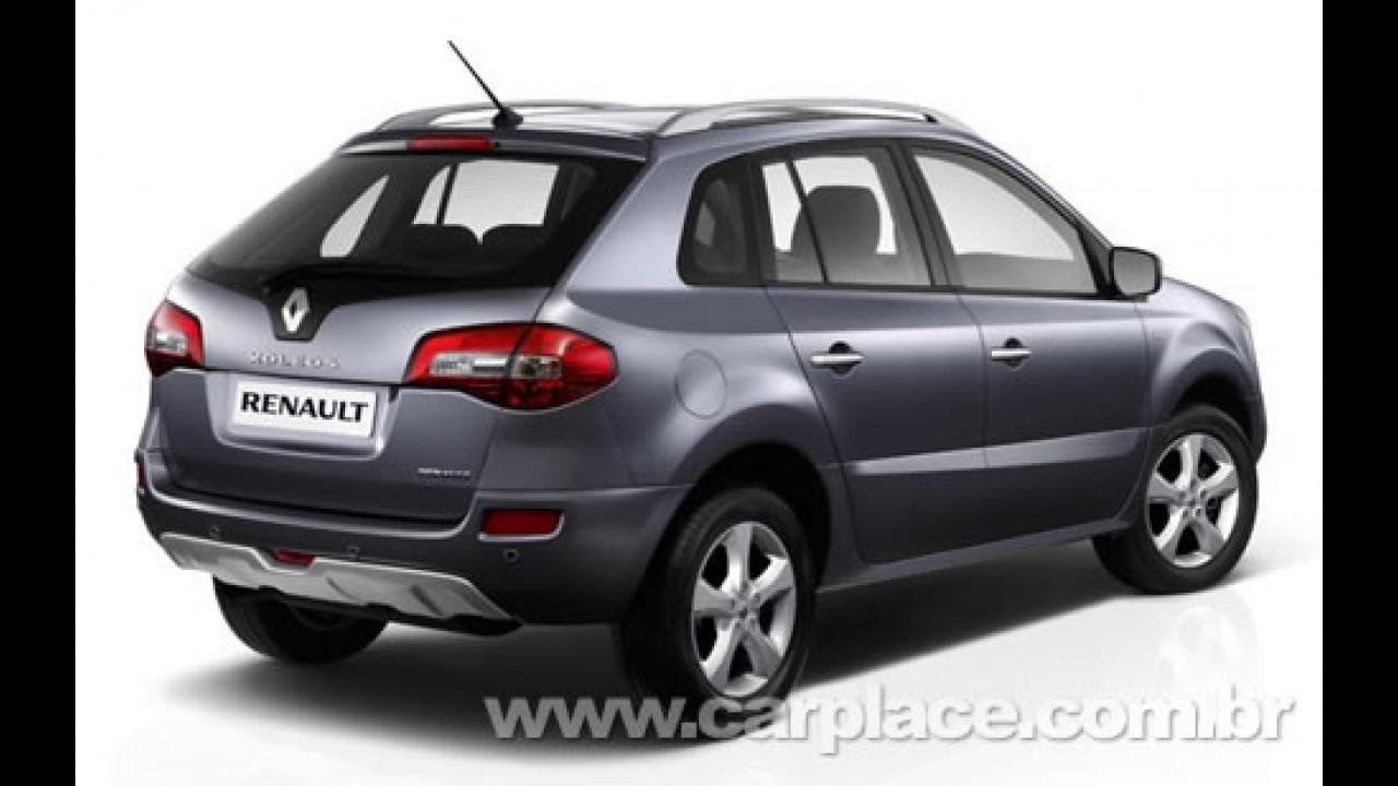 Renault Koleos 2009 - Novo crossover 4x4 será apresentado em Genebra