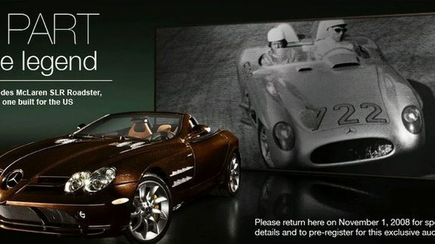 Final McLaren SLR Roadster Heading for the U.S.