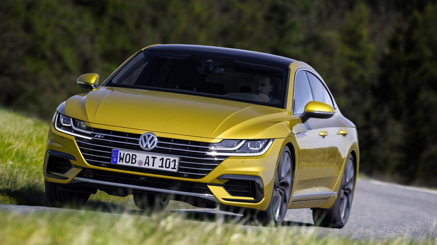 VW Arteon new official images
