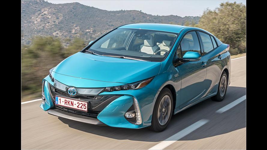 Neuer Toyota Prius Plug-in Hybrid im Test