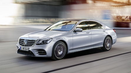 2018 Mercedes S-Class Revealed With Fresh Face, New Engines